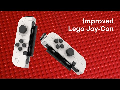 Improved Joy Con For Lego Nintendo Switch Moc 2 0 Youtube