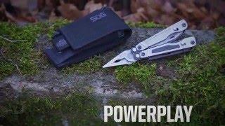 SOG PowerPlay w/ Soft Nylon Case & Hex Bit Kit