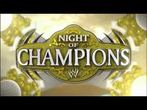 WWE Night of Champions 2012 Pyro HD (720p)