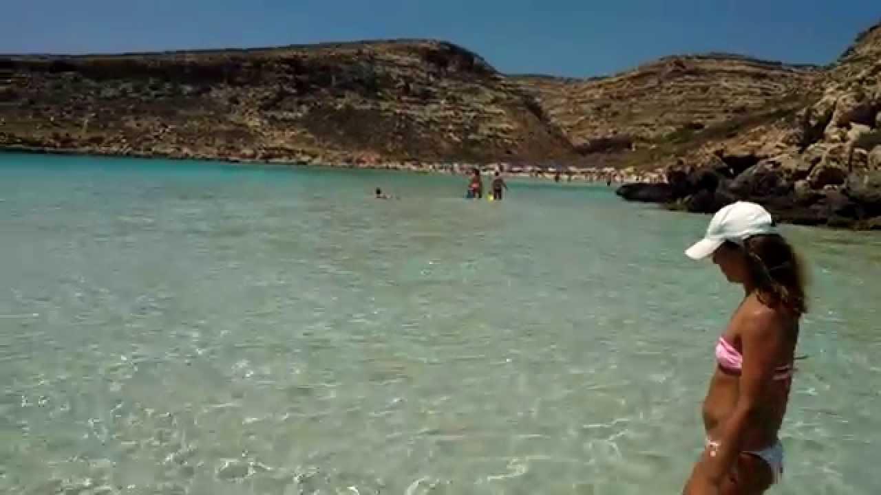 Lampedusa 2012 isola dei conigli meravigliosa youtube for Foto di case bellissime