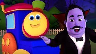 Хэллоуин семья | Хэллоуинская песня | Bob The Train | Halloween For Kids | Halloween Family