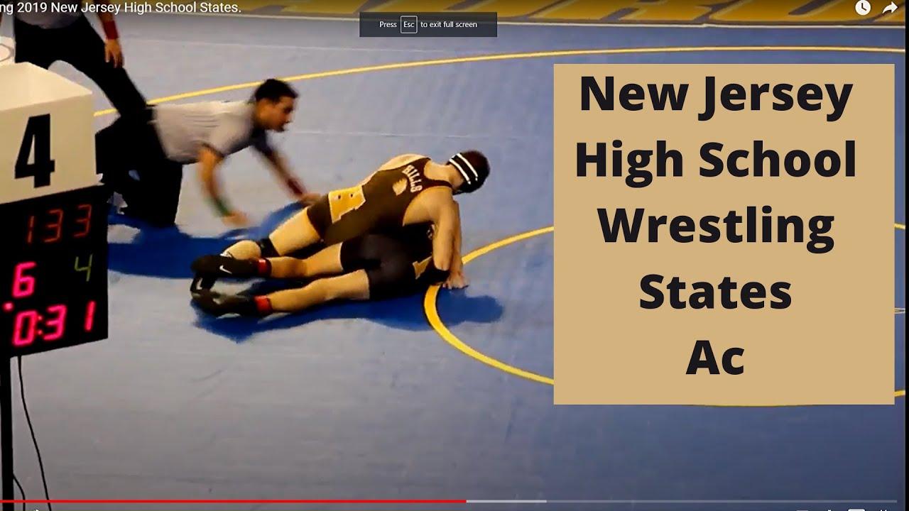 Wrestling 2019 New Jersey High School States
