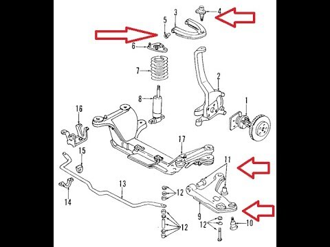 9802 Camaro Front Suspension Part 33 Replacement. 9802 Camaro Front Suspension Part 33 Replacement Cambio De La Delantera. Honda. 1998 Honda Civic Front End Diagram At Scoala.co