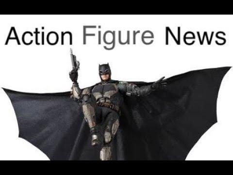 Action Figure News #132 Mafex JL Tactical Suit BATMAN & Cyborg SHF Catwoman & More! Toy News