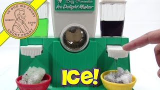 Suzy Homemaker Ice Delight Maker, I Make Snow Cones!
