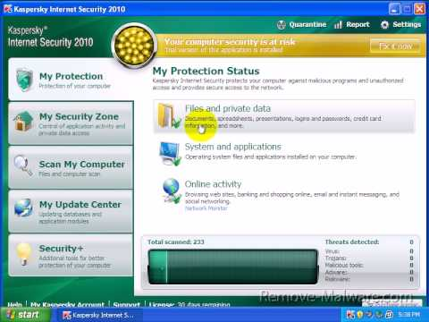 Kaspersky Internet Security Review Part 1