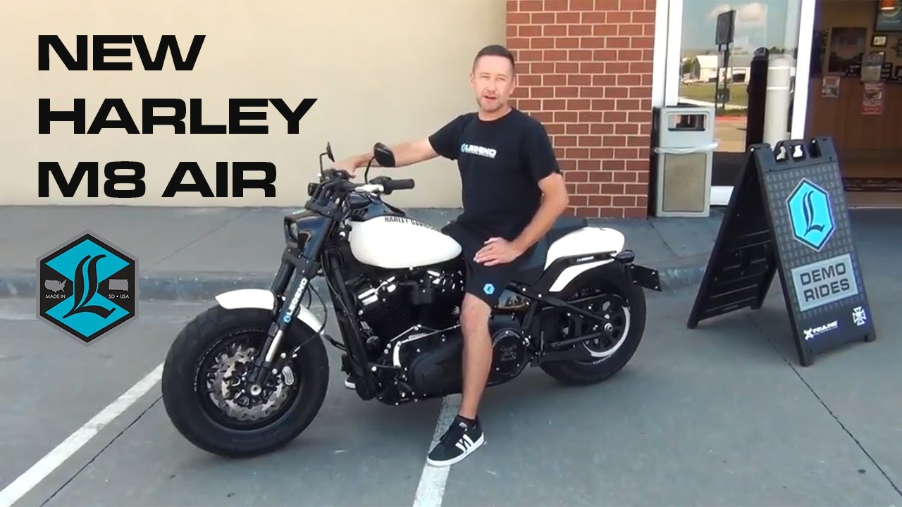 New Harley M8 Air - Pig Trail Harley - Legend Suspensions Performance Tour!