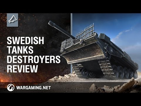 World of Tanks PC - Swedish Tank Destroyers Review