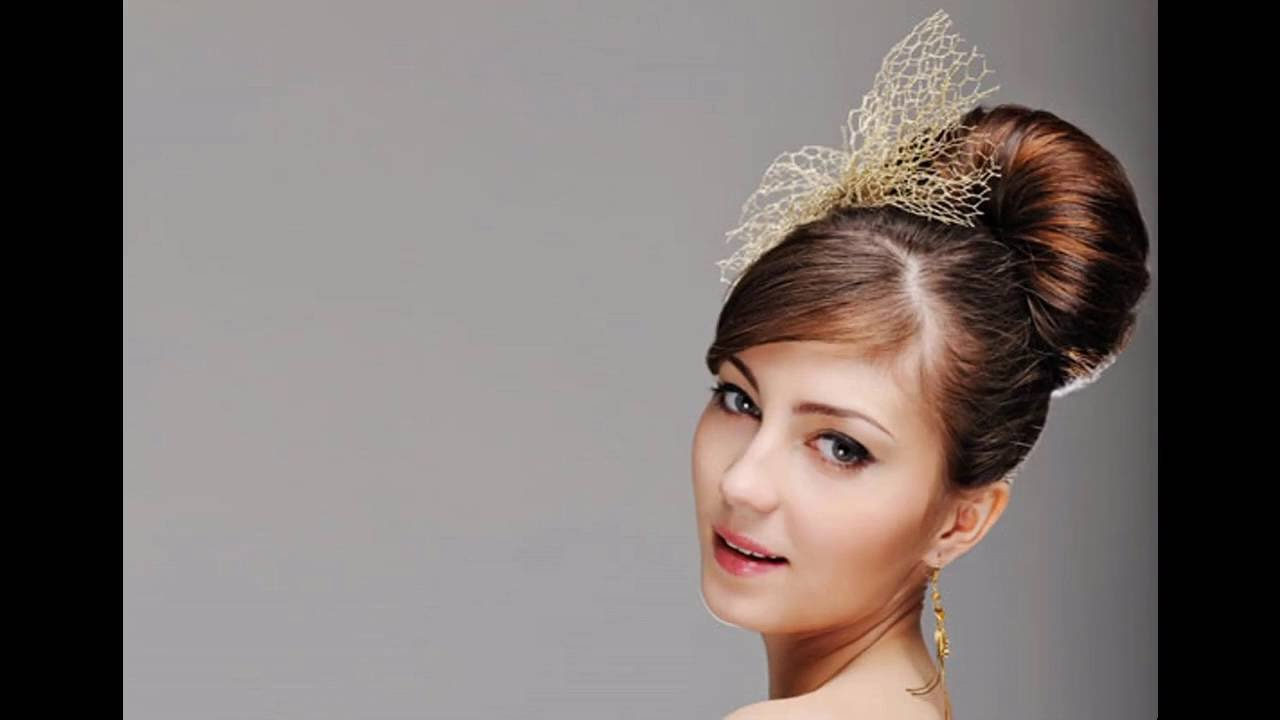 Short hairstyles for evening gowns , YouTube