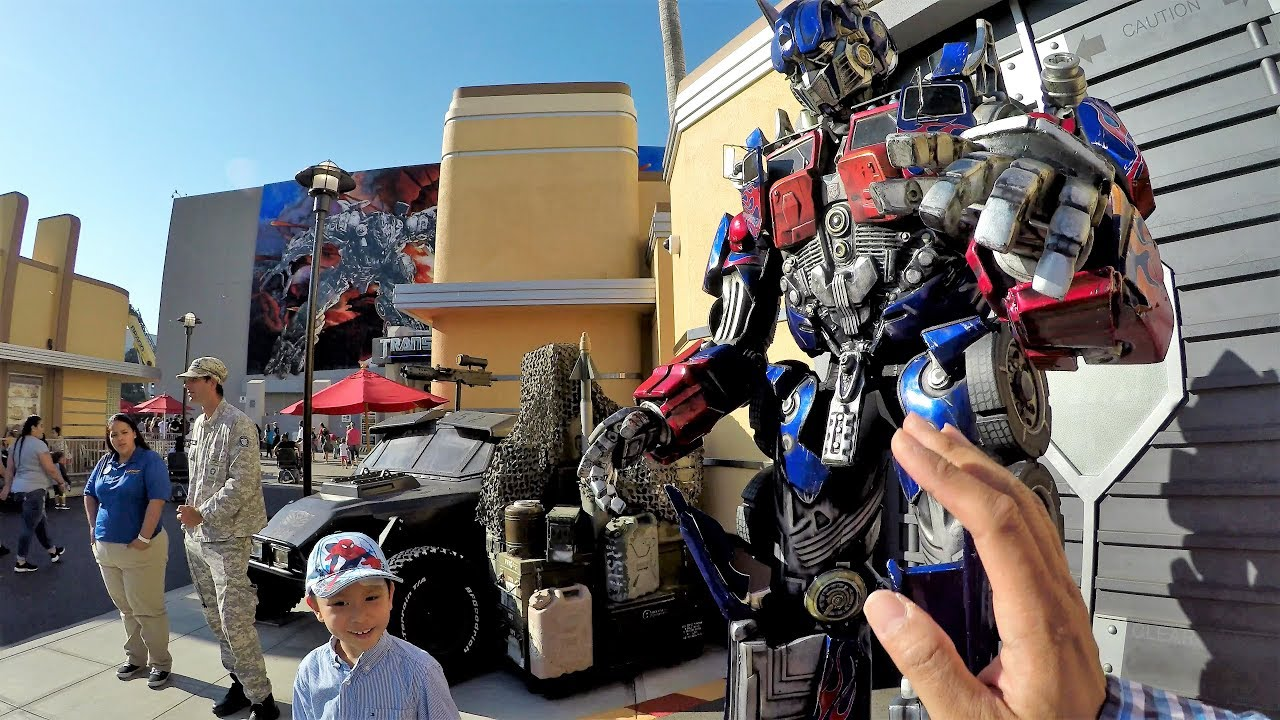 Image result for universal studios transformers