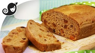 Irish Tea Loaf (barmbrack) | Oilfree + Vegan/vegetarian