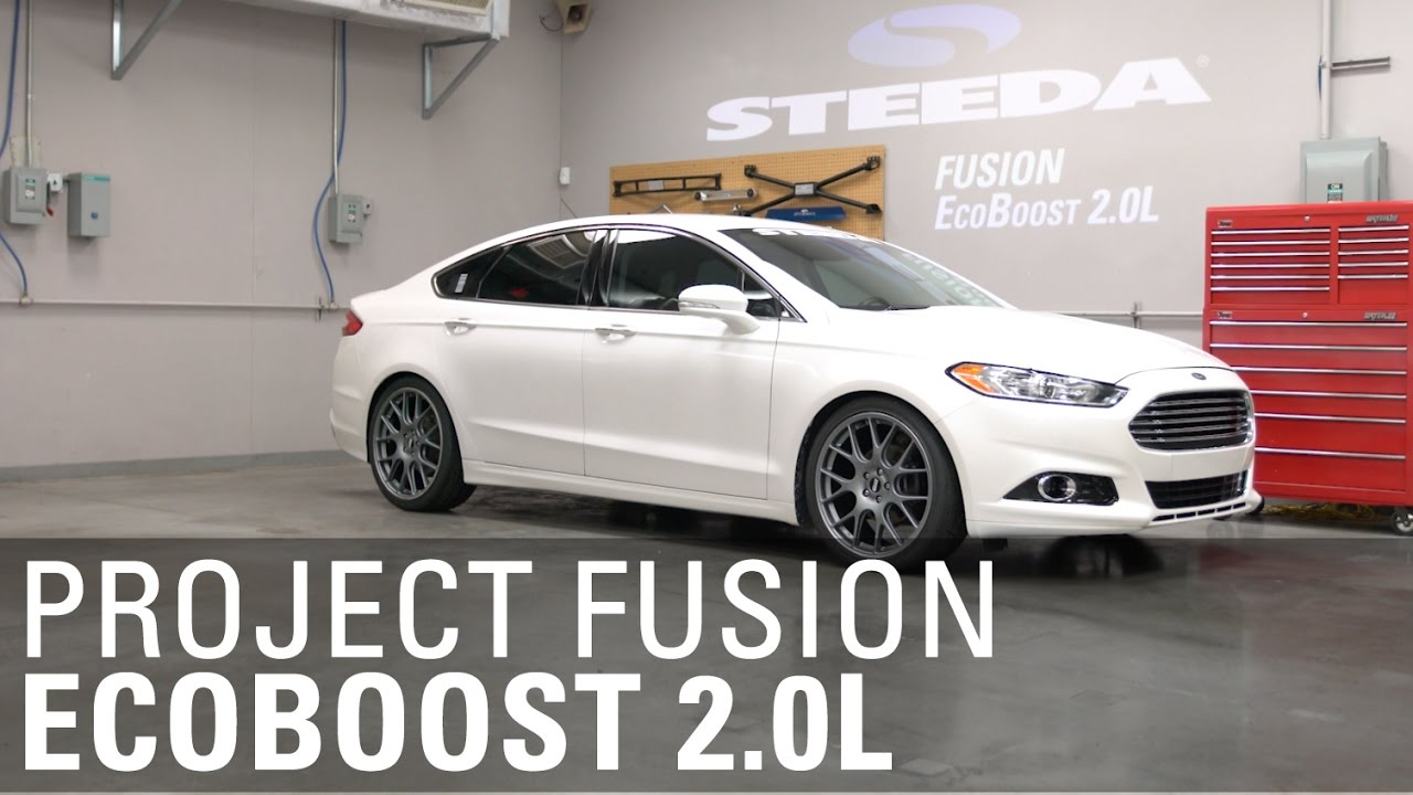 Project Fusion 2 0l Ecoboost Overview Steeda Youtube