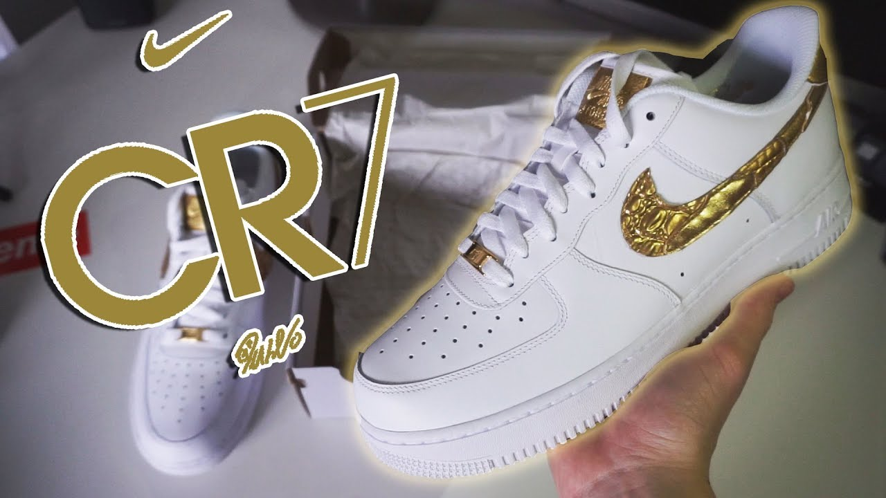 SHOE OF THE YEAR?! Cristiano Ronaldo CR7 Air Force 1 UNBOXING