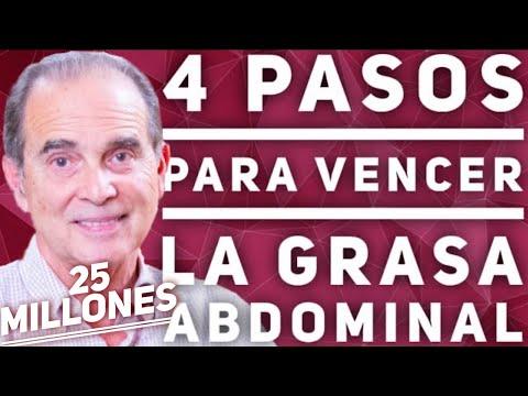 4 Pasos para Vencer la Grasa Abdominal