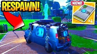 Fortnite Respawn Van EXPLAINED - How To RESPAWN In Fortnite Battle Royale! (Season 8)