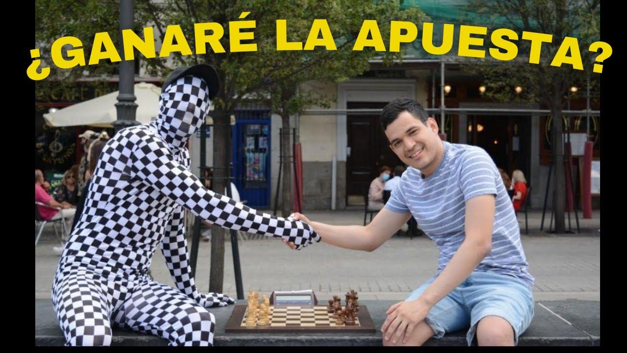 RETO en La CALLE: @Rey Enigma VS AjedrezGuerrero