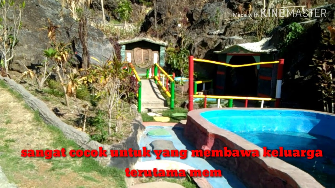 Pesona Alam Taman Batu Hanjuang Kabupaten Kuningan Jawa
