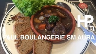 Paul Boulangerie Patiesserie French Restaurant SM Aura Manila BGC by HourPhilippines.com