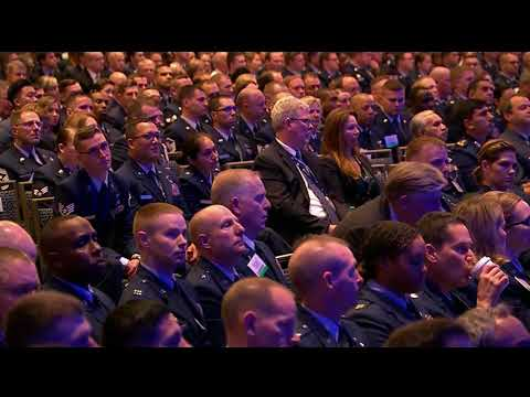 Defense Secretary Mattis delivers keynote at Air Space Cyber