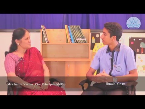 Interview with Mrs Indira Varma , Vice  Principal of SMIS