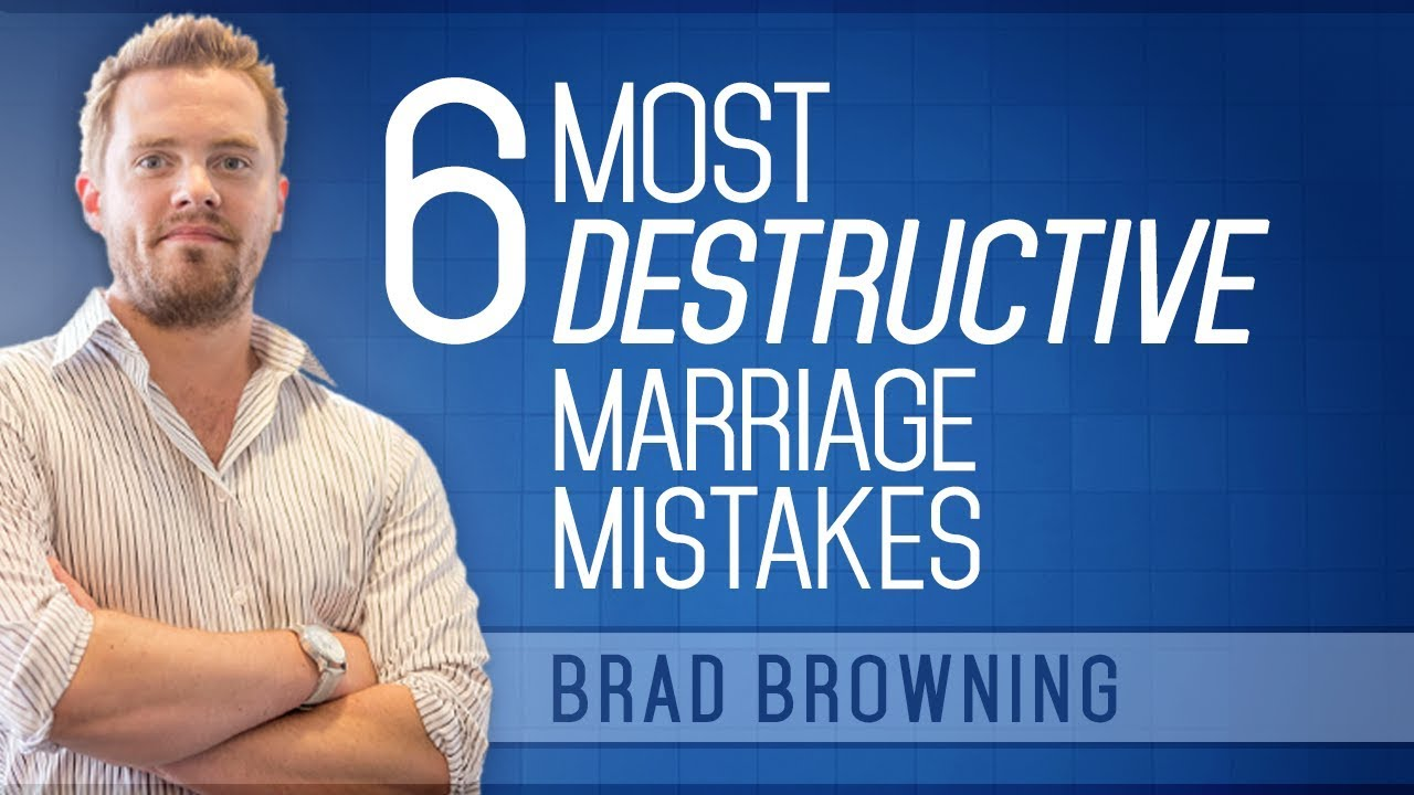6 Mistakes That Ruin Marriages And How To Fix Them