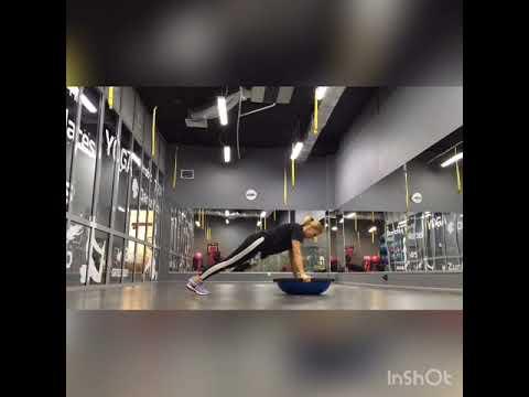Комплекс упражнений с балансировочной платформой BOSU