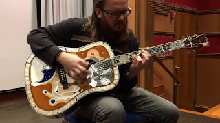 playing the rgm watches martin guitar prototype