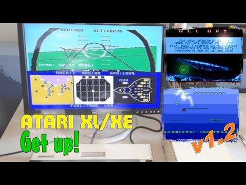 Atari XL/XE -=Get up!=-
