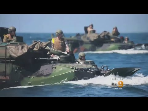 15 Marines Hurt When Amphibious Vehicle Catches Fire At Camp Pendleton