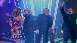 Westlife win Record of the Year 2003 - December 2003