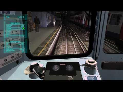 World Of Subways 3 – London Underground Circle Line (Dest at Baker Street)(9:18 PM Run) |