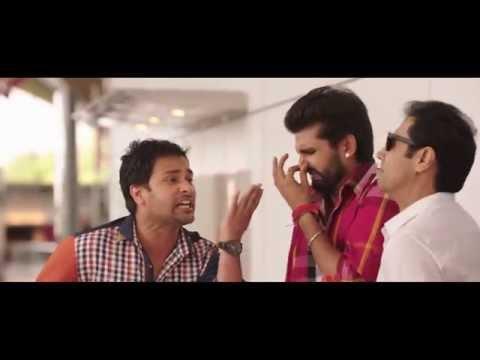 Punjabi Comedy Scene || Tussi Toilet Ch Miloge || Binnu Dhillon, Amrinder Gill & Yuvraj Hans