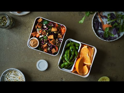 A WEEK OF VEGAN PACKED LUNCH IDEAS: SPRING EDITION | Good Eatings