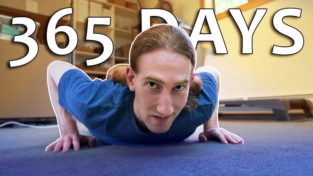 I did 100 pushups every day for a YEAR