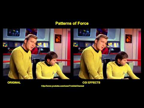 Star Trek - Patterns of Force - visual effects comparison
