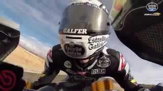 A fast lap of Almeria with Alex Màrquez