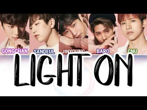 [JAPAN] B1A4 (비원에이포) - Light On [LYRICS]
