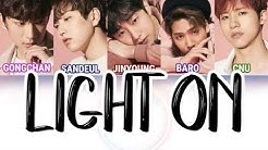 [JAPAN] B1A4 (비원에이포) - Light On [LYRICS]