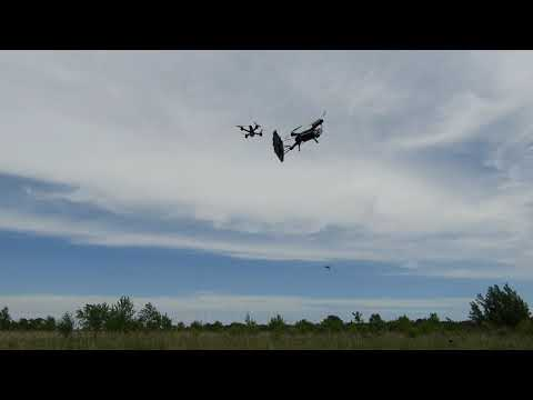 Drone in a blender. Game of drones!