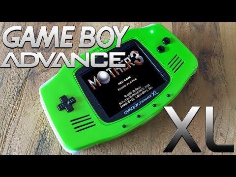 Gameboy Advance XL