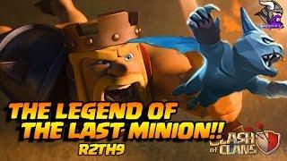 🔶The Legend of the Last Minion!🔶! 😀Minion The Savior😀 R2TH9 Ep 3 🔥Clash of Clans🔥