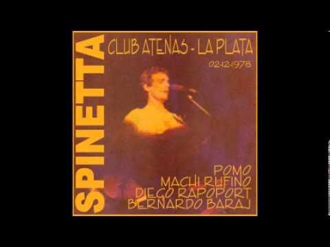 Banda Spinetta - Club Atenas de La Plata - 02/12/1978