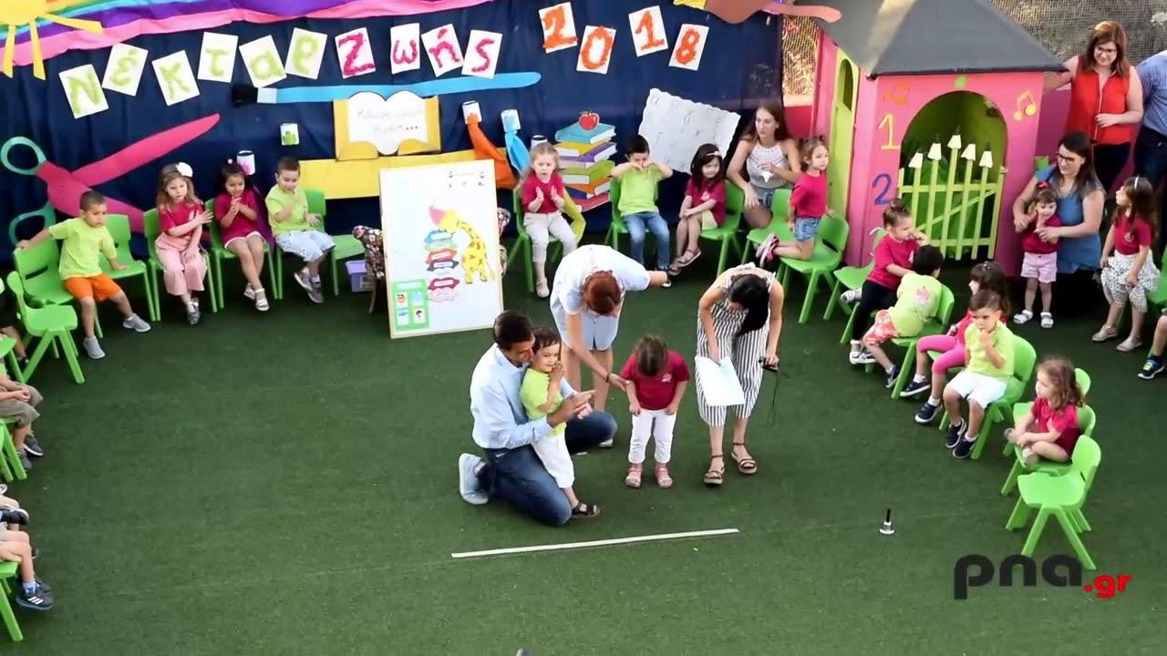 Με μια πολύ όμορφη γιορτή ολοκλήρωσε τη χρονιά του ο Πρότυπος Παιδικός Σταθμός Νέκταρ Ζωής