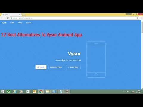 12 Best Alternatives To Vysor Android App - YouTube