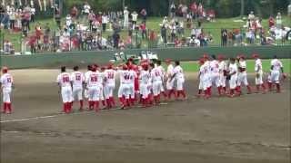 広島東洋カープ 9回裏、安部選手サヨナラ内野安打!20140814由宇球場