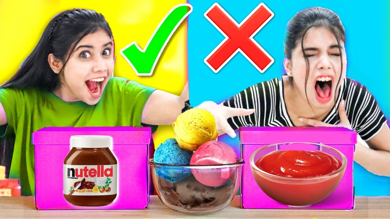 Don't Choose the WRONG Sauce Challenge! *Weird Combinations*🤦♀️