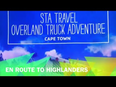 CN&CO - Day 2 STA Travel, Acacia Africa overland tour