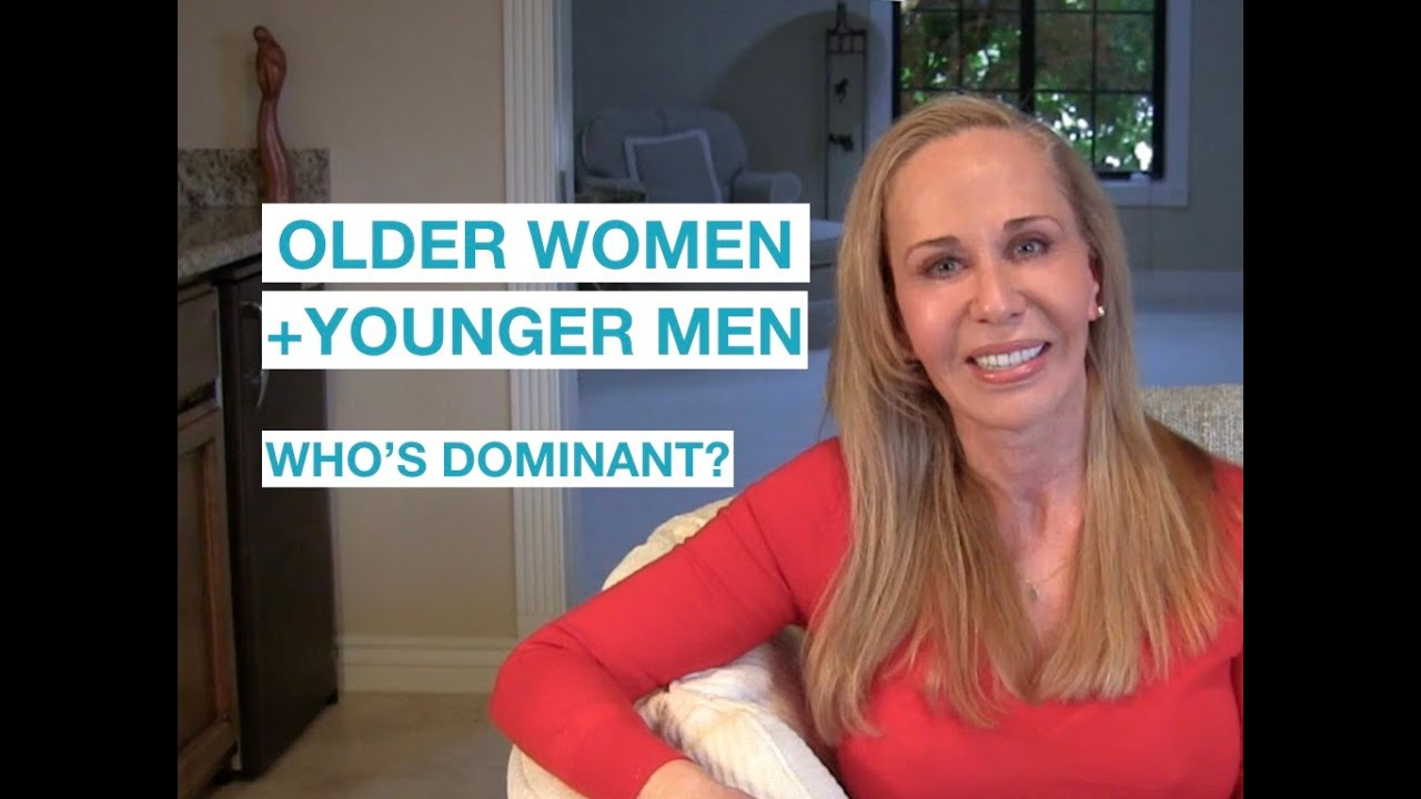 Mature women with young guys
