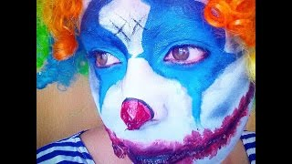 Clown evil makeup tutorial / maquillaje payaso maléfico