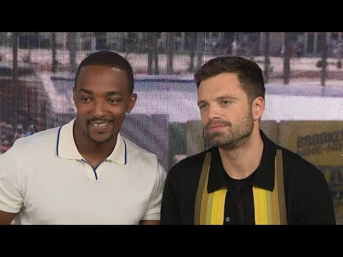 Comic-Con 2019: Anthony Mackie and Sebastian Stan (Full Interview)